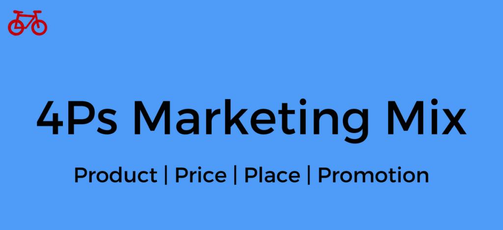 4ps Marketing Mix
