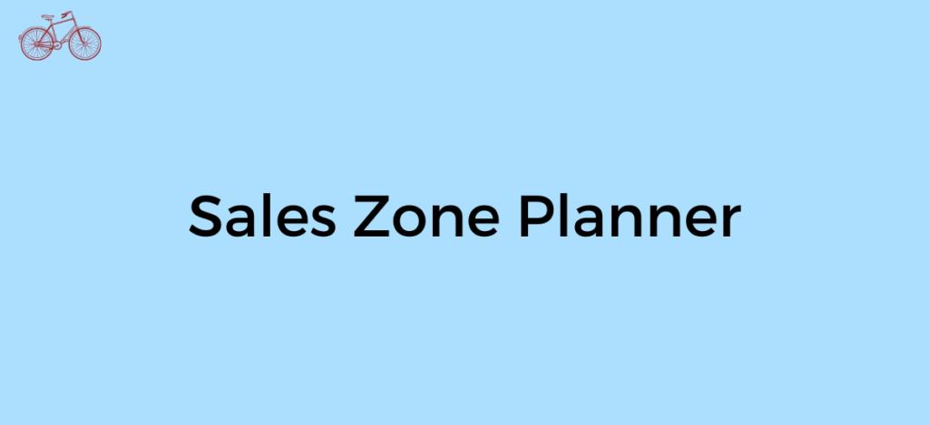 sales-zone-planner