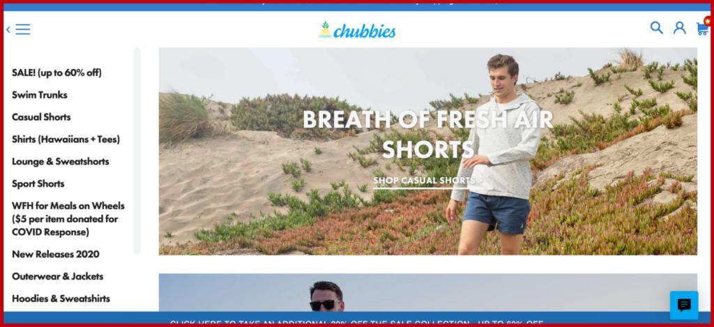Chubbies Suspense Marketing