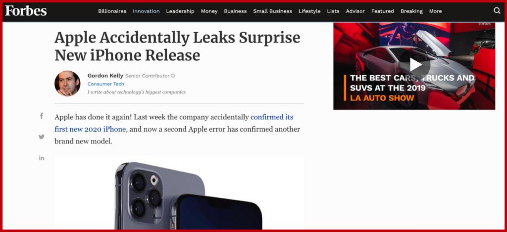 Apple iPhone Suspense Marketing